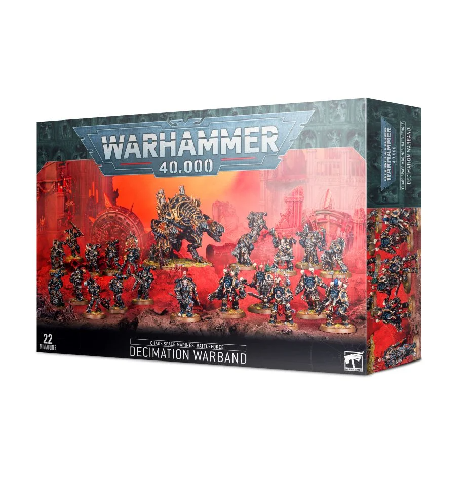 Chaos Space Marines Battleforce  Decimation Warband WARHAMMER 40K