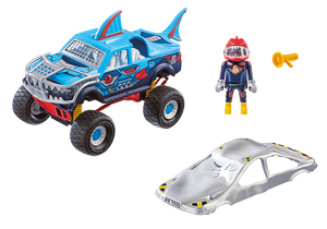 Playmobil Stunt Show Monster Truck Shark (70550)