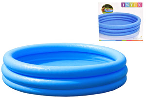 "Intex TY0690 3 Ring Crystal Blue Paddling Pool 58"" x 13"""