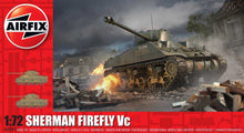 Load image into Gallery viewer, Airfix Sherman Firefly Vc 1:72 Scale Kit A02341 Model Tank Kit