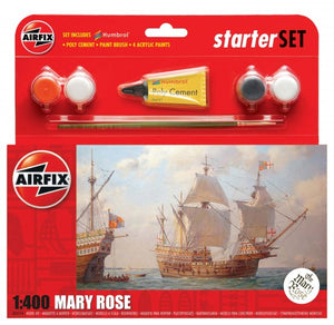 Airfix A55114 Starter Set Mary Rose 1:400 Ship Model Kit
