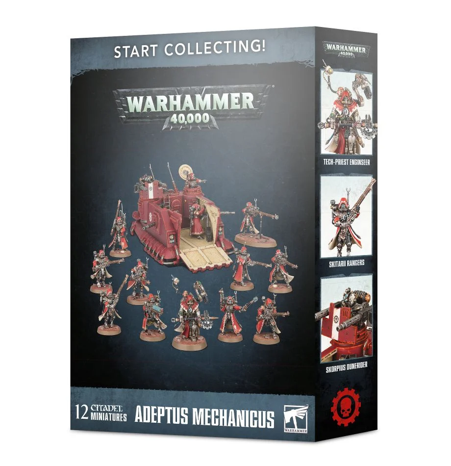 Start Collecting Adeptus Mechanicus Games Workshop