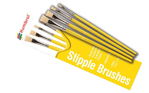 Humbrol AG4306 Stipple Brush Pack