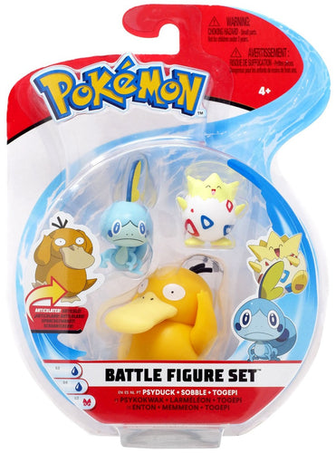 Pokemon Battle 3 Figure Pack series 4 PICK BY NAME NOT IMAGE