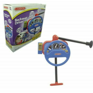 Casdon 214 Backseat Driver Kids Steering Wheel Toy