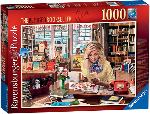 Ravensburger 1000 Piece Jigsaw 16418 The Bemused Bookseller