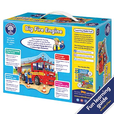 Orchard Toys 258 Big Fire Engine Floor Puzzle