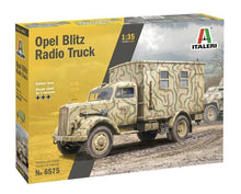Load image into Gallery viewer, Italeri 1:35 6575 - Sd.Kfz.305/22 Opel Blitz Radio Truck