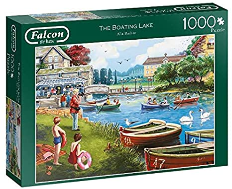 Falcon 1000 Piece Jigsaw 11252 The Boating Lake