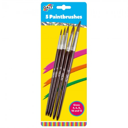 Galt 5 Paintbrushes