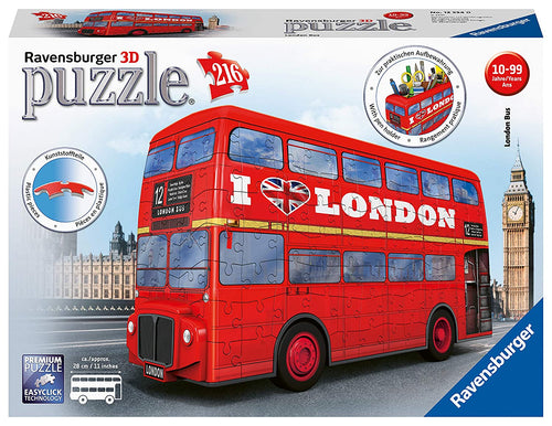 Ravensburger 12534 London Bus 3D Jigsaw Puzzle