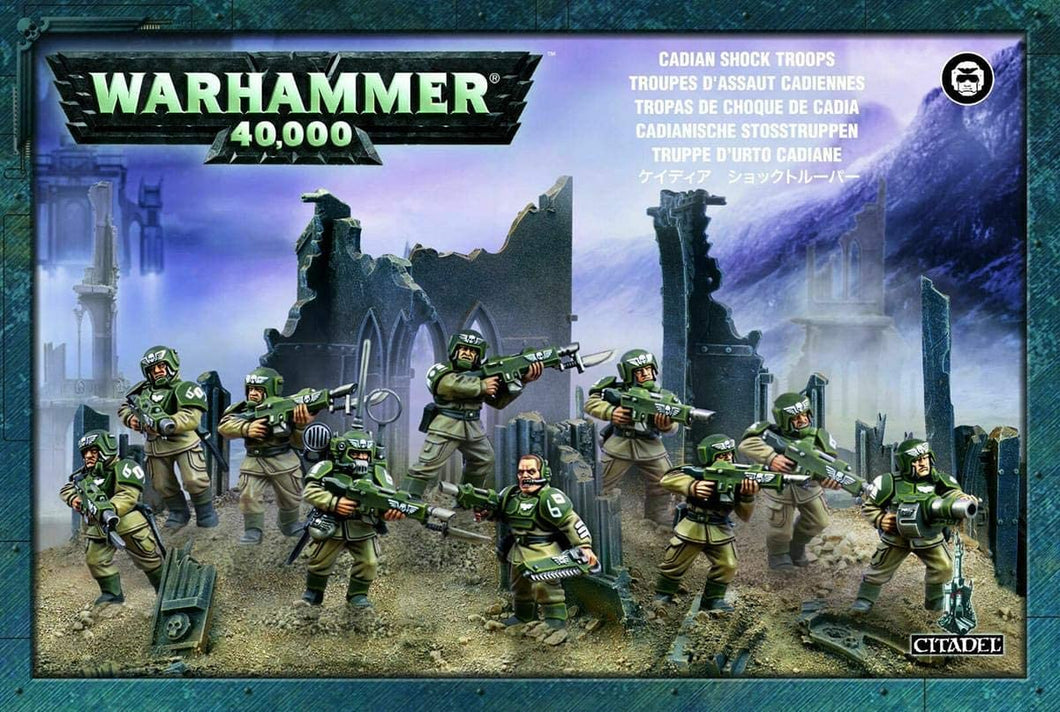Games Workshop Warhammer 40,000 Astra Militarum Cadian Infantry Squad