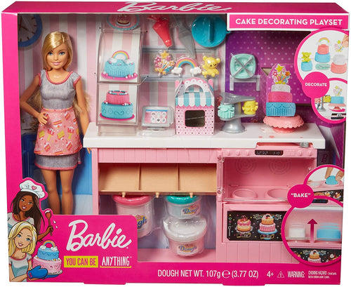 Barbie Cake Decorating Playset