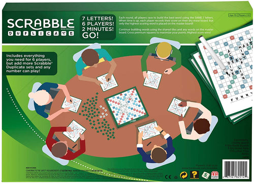 Scrabble Duplicate Board Game