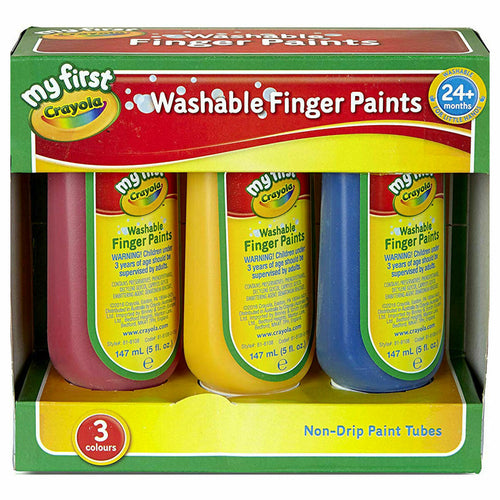 Crayola 3 My First Crayola Washable Finger Paints