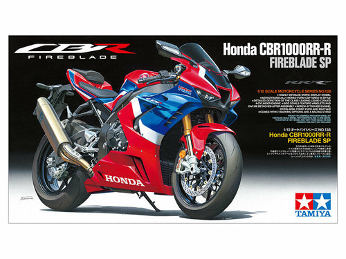 Tamiya 14138 Honda CBR1000RR-R Fireblade Sp 1:12 Plastic Bike Model Kit