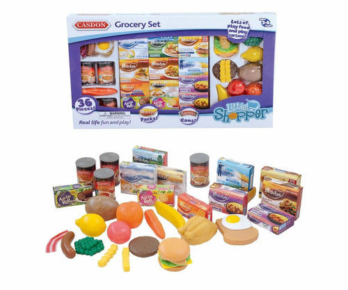Casdon Toy Grocery Set 617 Pretend Food