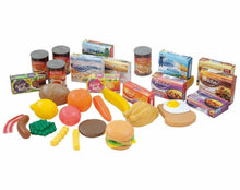 Load image into Gallery viewer, Casdon Toy Grocery Set 617 Pretend Food