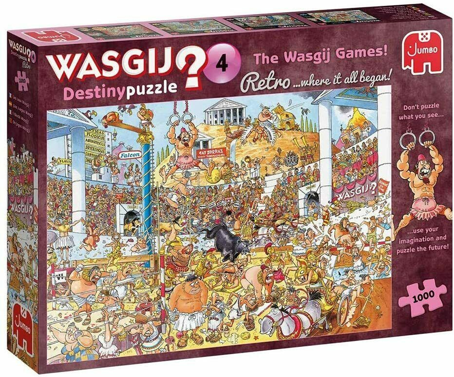Wasgij 19178 Retro Wasgij Destiny 4 The Wasgij Games 1000 Piece Jigsaw