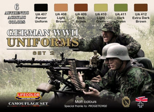 LifeColor German WWII Uniform Set 2