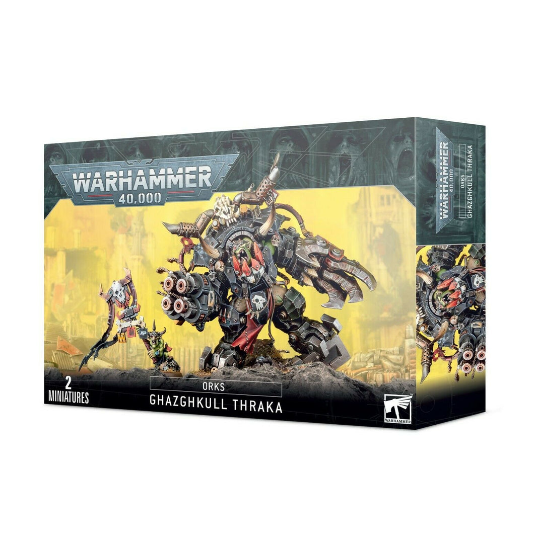 Ghazghkull Thraka Orks Games Workshop