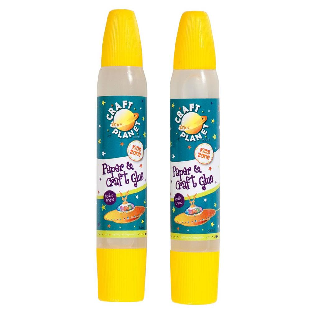 Craft Planet Paper & Craft Glue - Value Duo