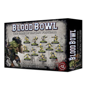 Blood Bowl The Scarcrag Snivellers Goblin Blood Bowl Team