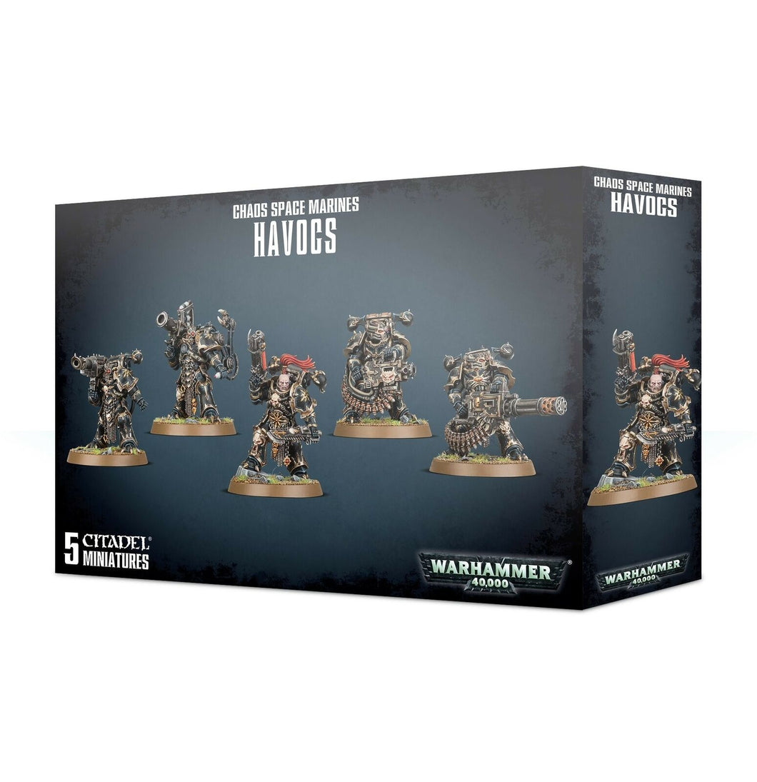 Chaos Space Marines Havocs Squad Warhammer 40k