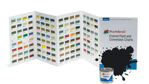 Humbrol Enamel Model Paint 14ml - Gloss Satin Metallic Airfix