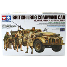 Load image into Gallery viewer, Tamiya British LRDG Command Car Model Set Scale 1:35 32407