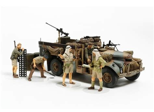Tamiya British LRDG Command Car Model Set Scale 1:35 32407