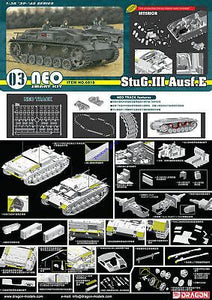 Dragon D6818 1/35 StuG.III Ausf.E SMART KIT tank model Neo track