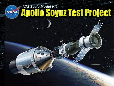 Dragon 1/72 scale Apollo Soyuz Test Project WITH display stand 11012