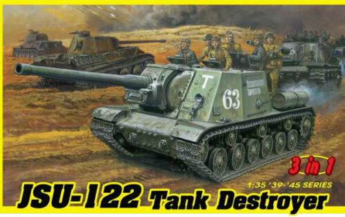 Dragon 6787 JSU-122 VS Panzerjager (3in1) 1:35