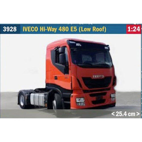 Italeri 3928 Iveco Hi-Way 480ES (Low Roof) 1:24 Truck Lorry Plastic Model Kit