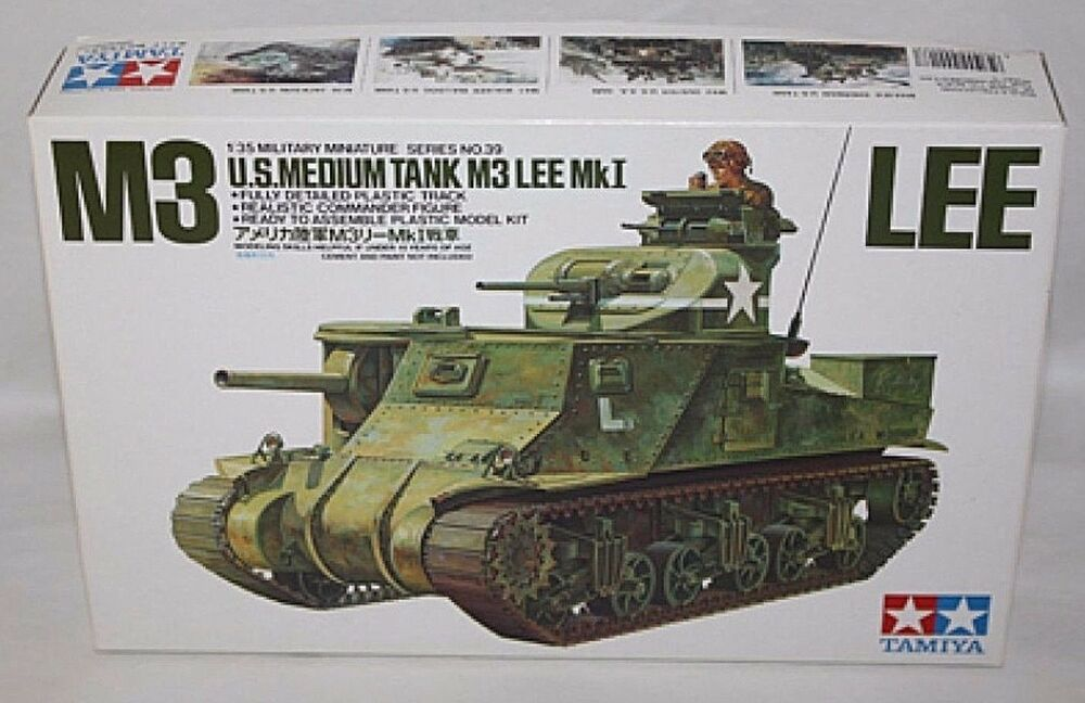 Tamiya 1/35 U.S. Medium Tank M3 Lee Mk.I 35039
