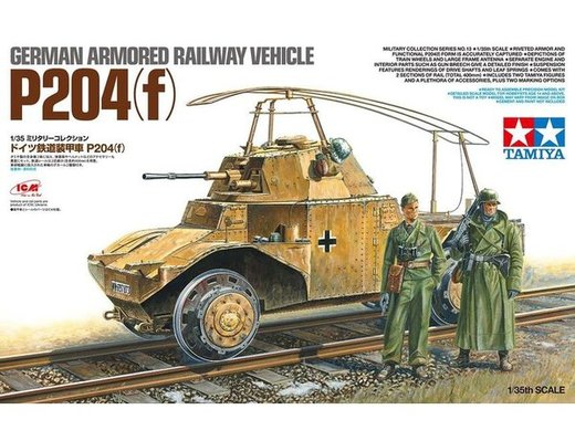 TAMIYA 32413 P204(f) Railway Version 1:35 Plastic Model Kit