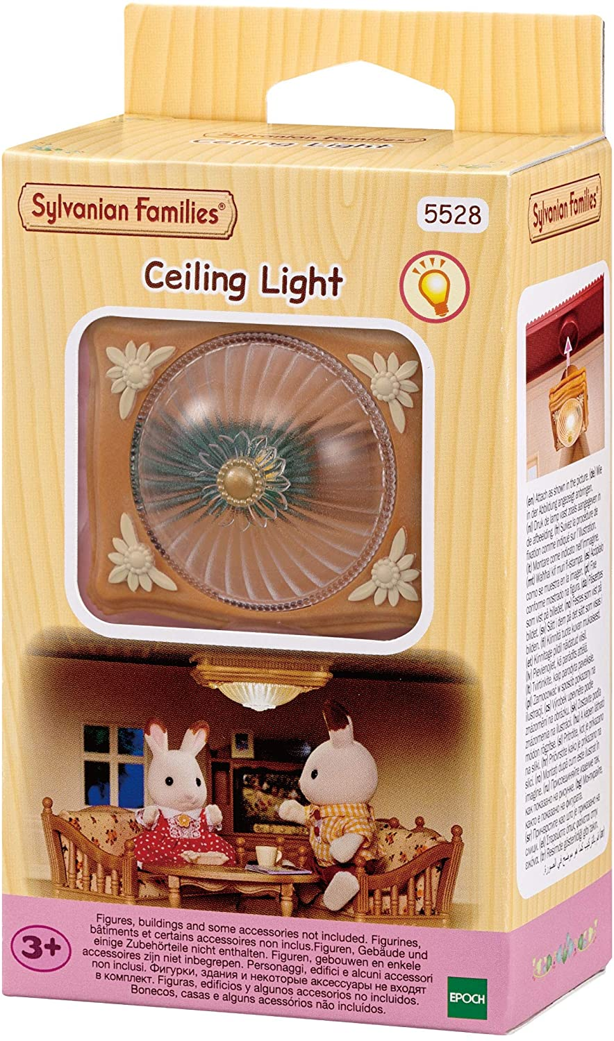 Sylvanian Families 5528 Ceiling Light Doll Furniture and Accessories