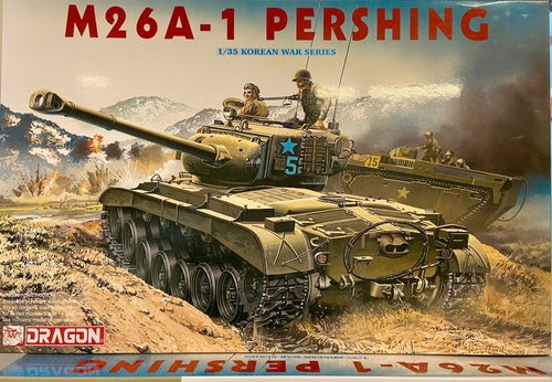 Dragon 6801 M26A-1 Pershing Tank 1:35 Plastic Model Tank Kit