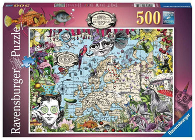 Ravensburger 16003 World Map of Fantastic Beasts 1500pc Jigsaw Puzzle