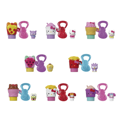 Hello Kitty Mini Pencil Topper and Stamp Assorted