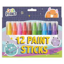 Load image into Gallery viewer, Craft Planet Paint Sticks (12pcs) - Bright
