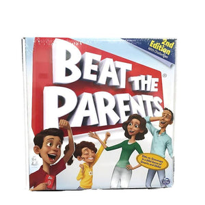 Spin Master Beat The Parents 2nd Edition Quiz Game with Challenges