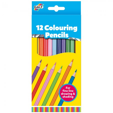 Galt 12 Colouring Pencils for Children