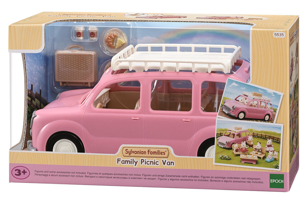 Sylvanian Families 5535 family car with picnic accessories