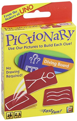Pictionary Travel Version Card Game
