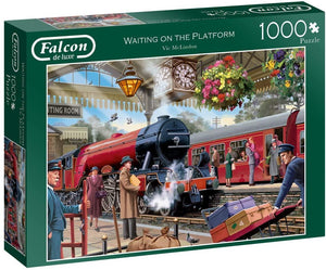 Falcon 1000 Piece Jigsaw 11250 Waiting On The Platform