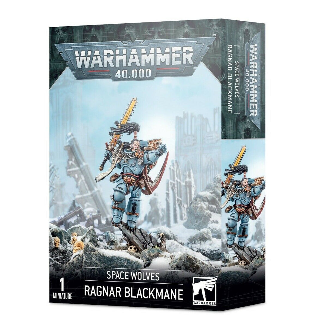 Space Wolves Ragnar Blackmane Games Workshop