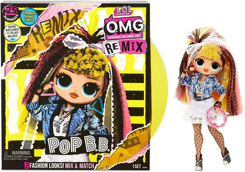 L.O.L. Surprise! O.M.G. Remix Pop B.B. Fashion Doll