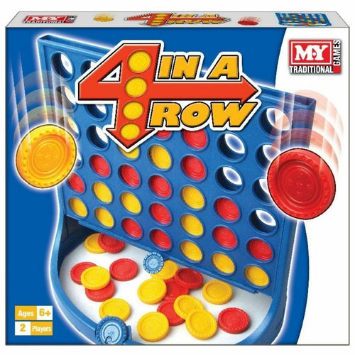 M.Y 4 In A Row Traditional Family Kids Classic Board Game